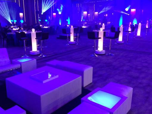 LED SIDE TABLES